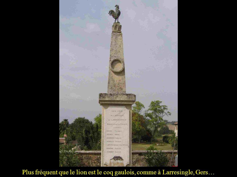 … et bien sûr, à Belfort, où il constitue un monument à lui seul!