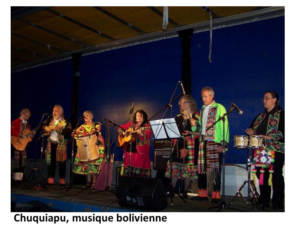 Chuquiapu, musique bolivienne