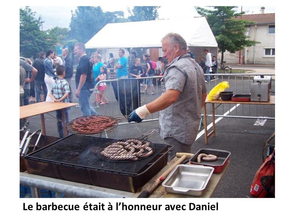 Le barbecue était à lhonneur avec Daniel