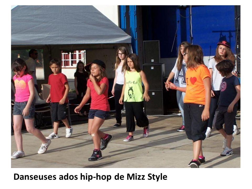Danseuses ados hip-hop de Mizz Style
