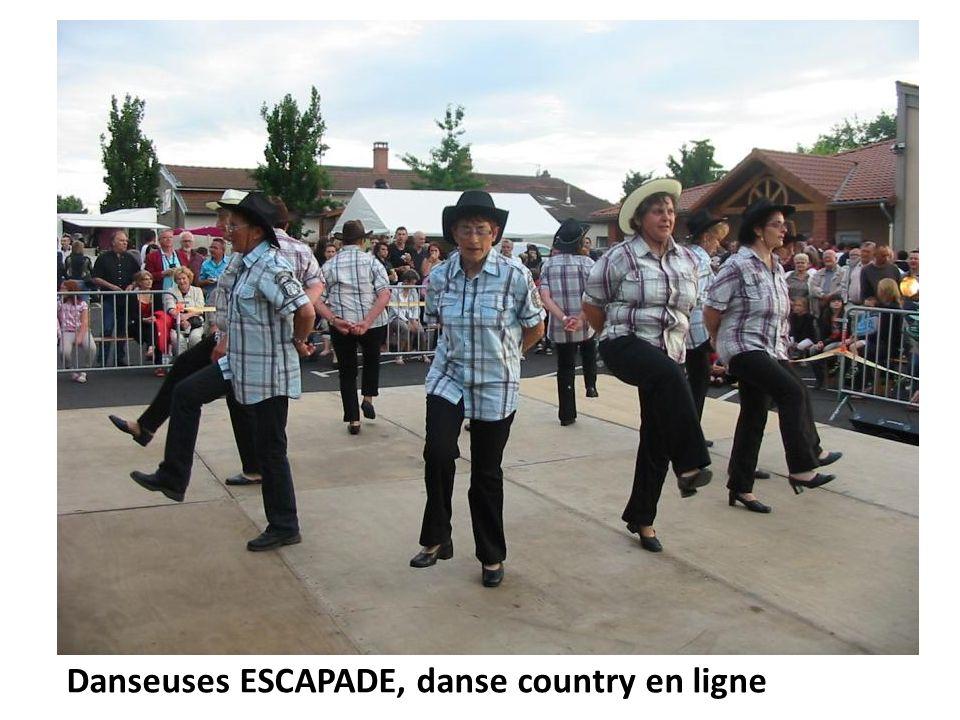 Danseuses ESCAPADE, danse country en ligne