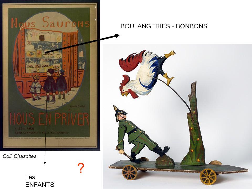 Les ENFANTS BOULANGERIES - BONBONS ? Coll. Chazottes