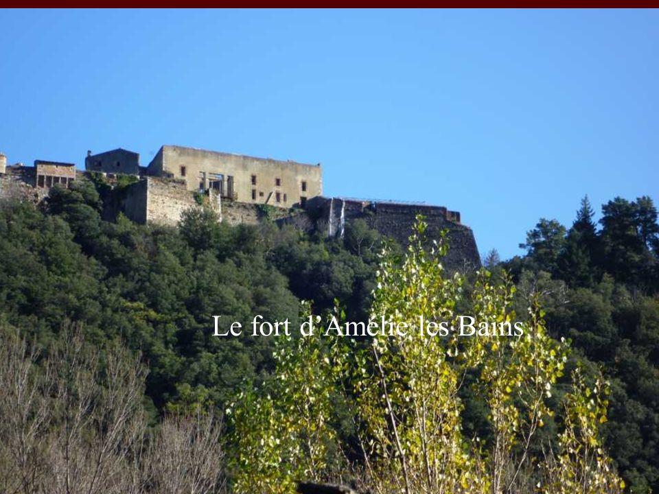 Le fort dAmélie les Bains