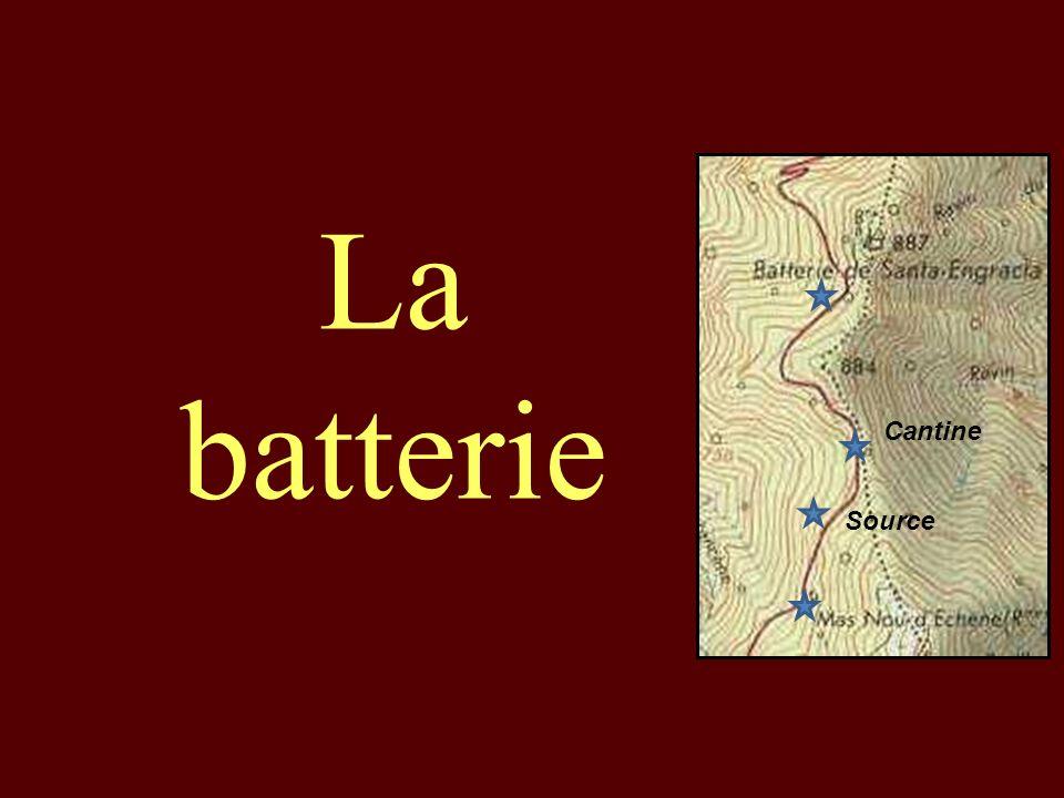 La batterie Cantine Source