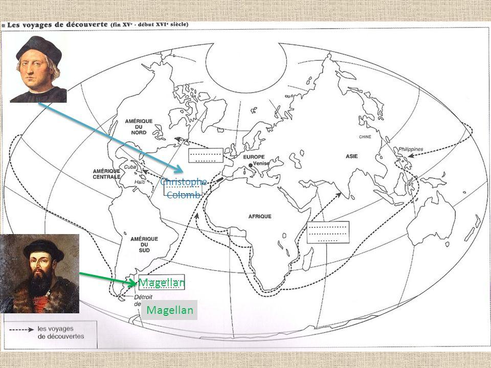 Christophe Colomb Magellan