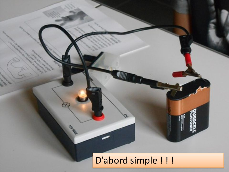 Dabord simple ! ! !