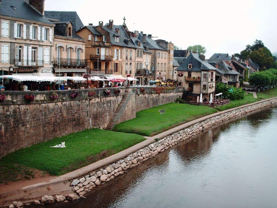 Petit village de Montignac sur Lascaux