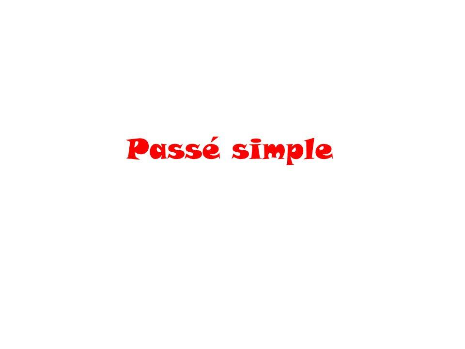 Passé simple