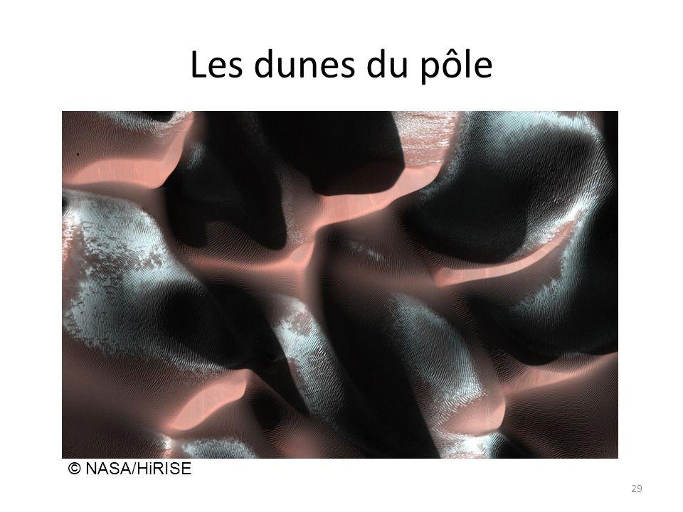 Les dunes du pôle 29 © NASA/HiRISE