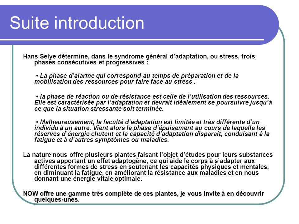 Suite introduction Hans Selye détermine, dans le syndrome général dadaptation, ou stress, trois phases consécutives et progressives : La phase dalarme