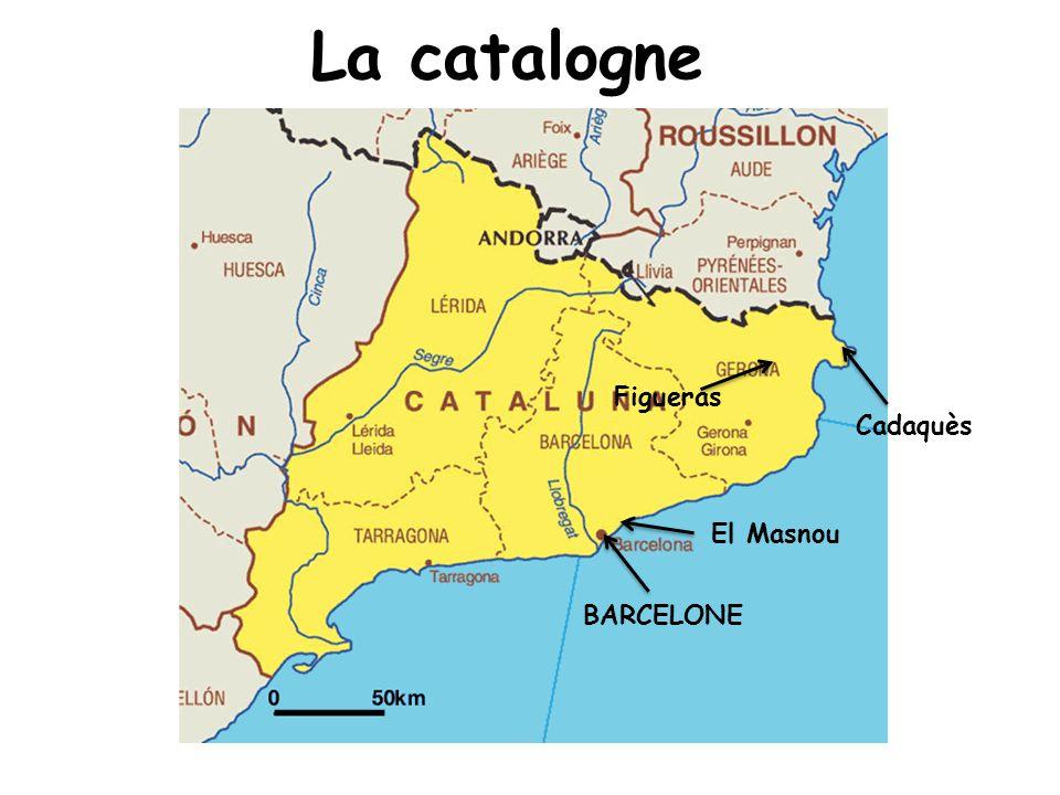 La catalogne BARCELONE Cadaquès Figueras El Masnou
