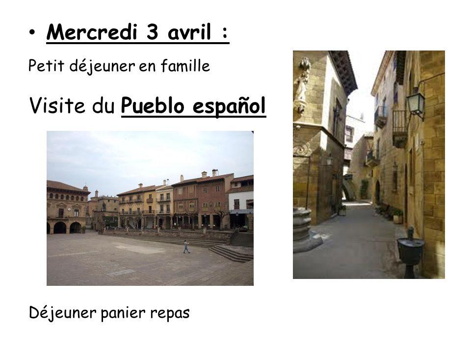 Visite du musée dhistoire de la Catalogne Visite du quartier gothique de Barcelone Visite de la cathédrale et de son cloître.
