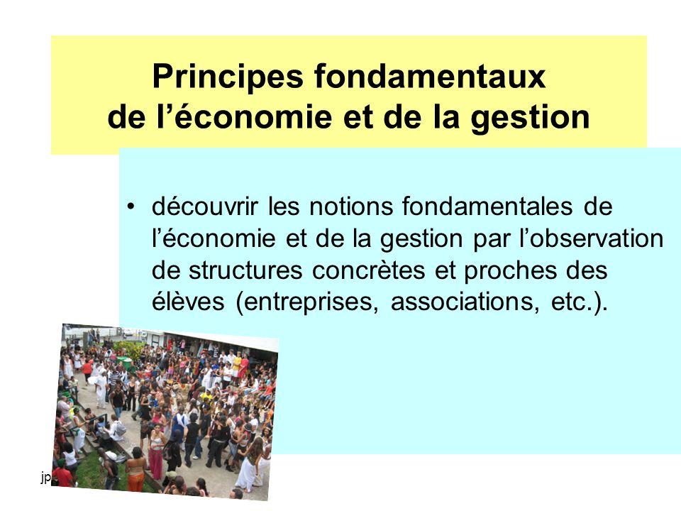 jp Houël 11-12 avril Principes fondamentaux de léconomie et de la gestion découvrir les notions fondamentales de léconomie et de la gestion par lobser