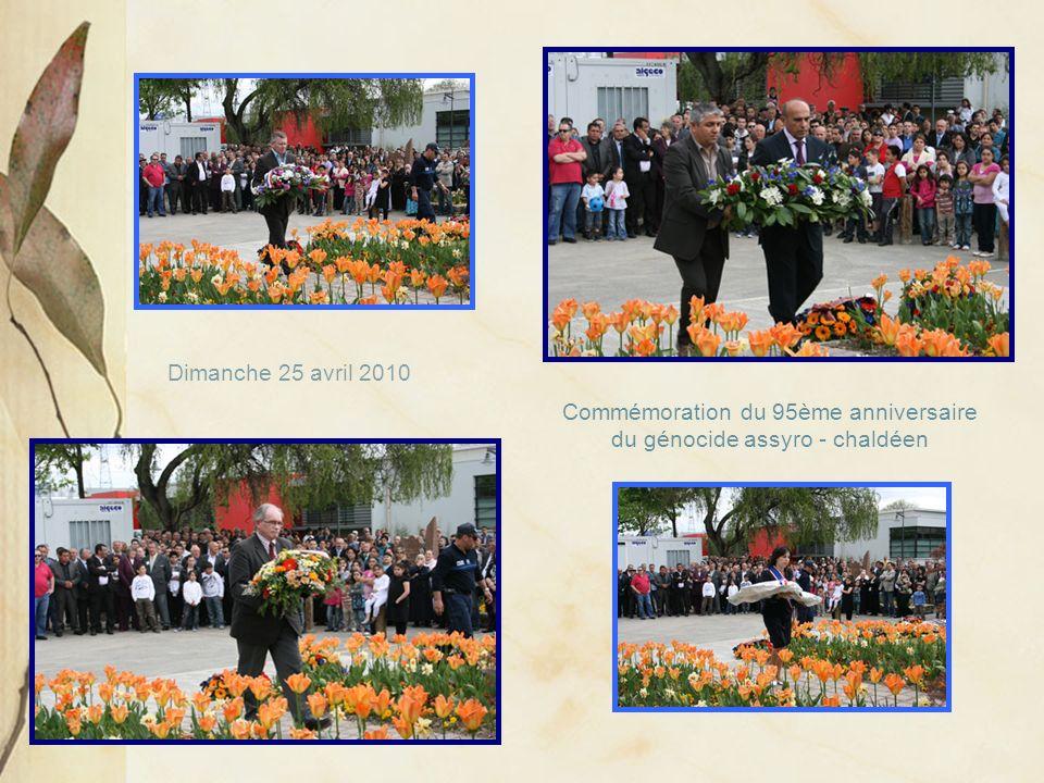 Commémoration du 95ème anniversaire du génocide assyro - chaldéen