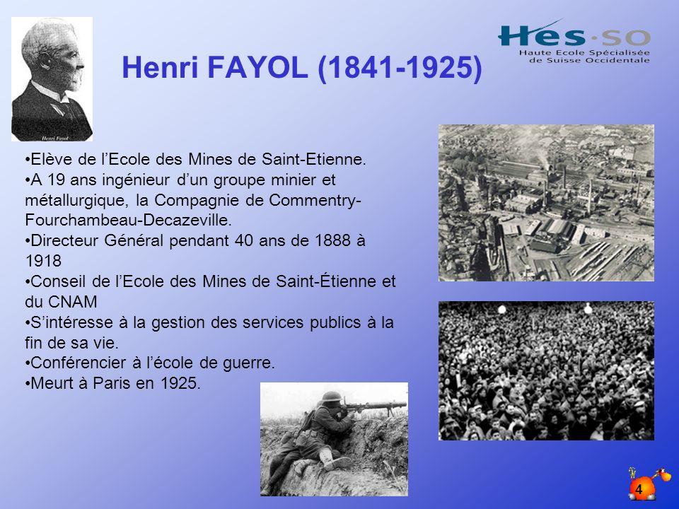HB/ Avril 2005 4 Elève de lEcole des Mines de Saint-Etienne.