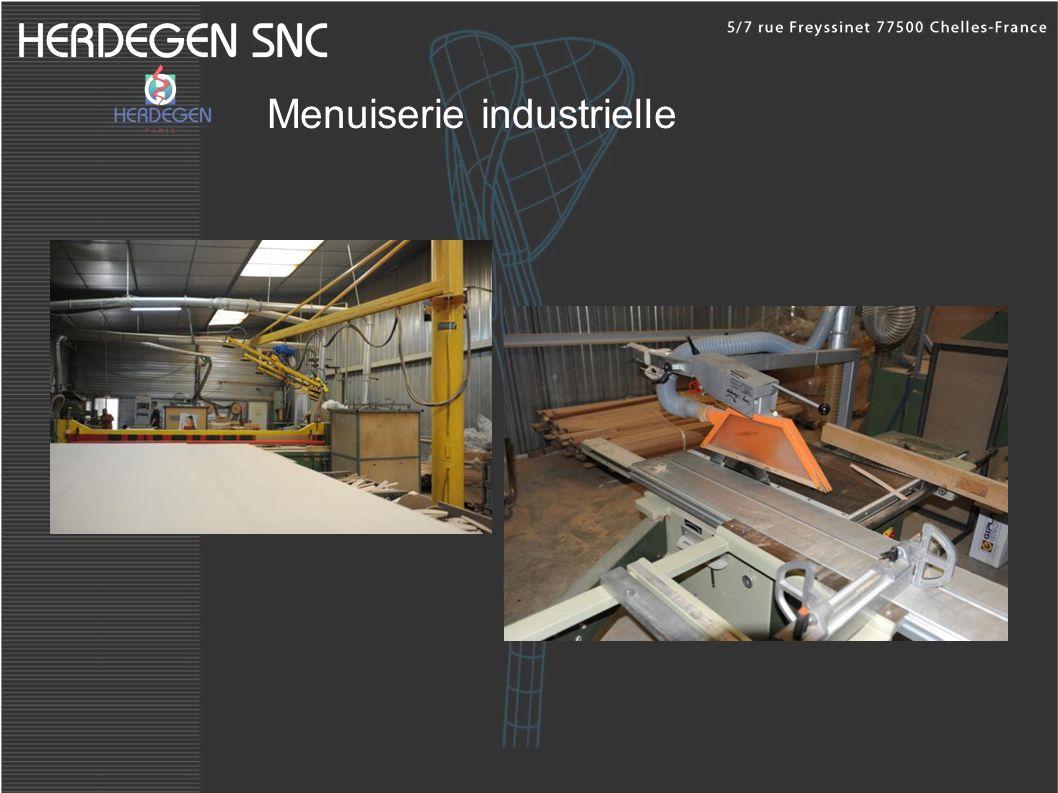 Menuiserie industrielle