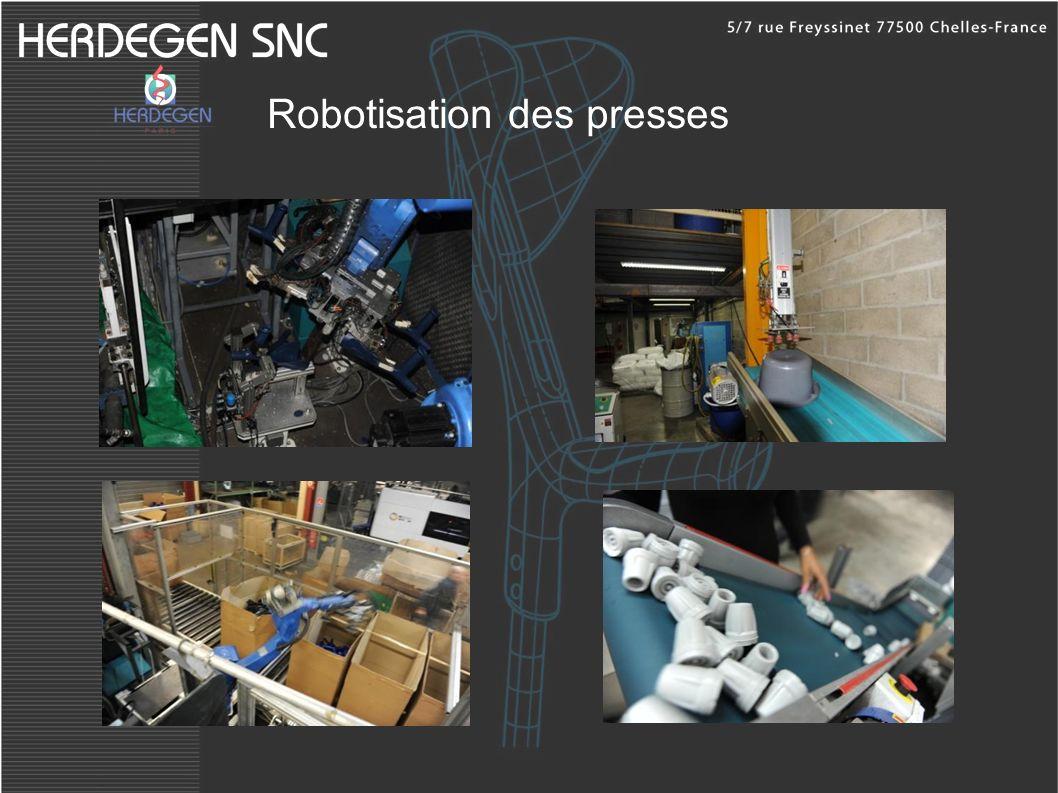 Robotisation des presses