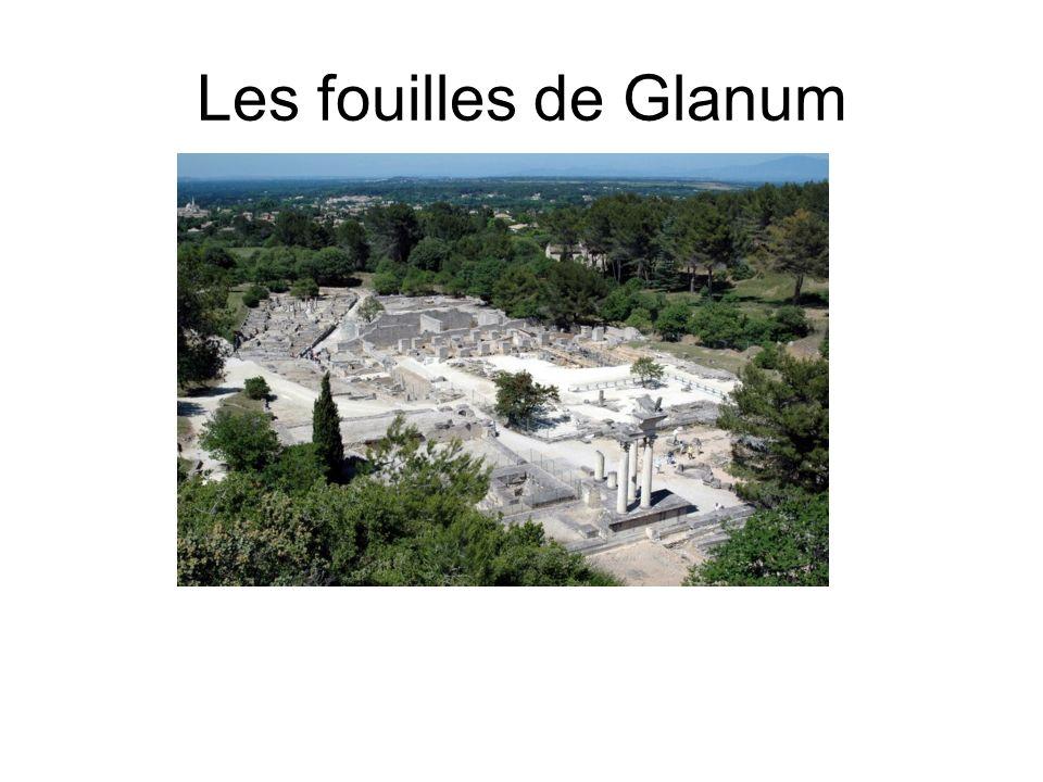 Les fouilles de Glanum