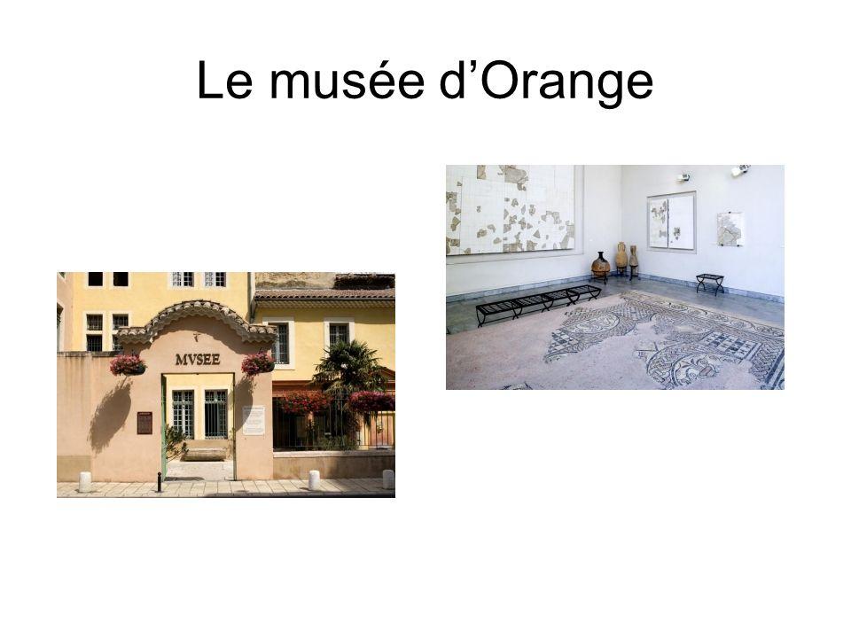 Le musée dOrange