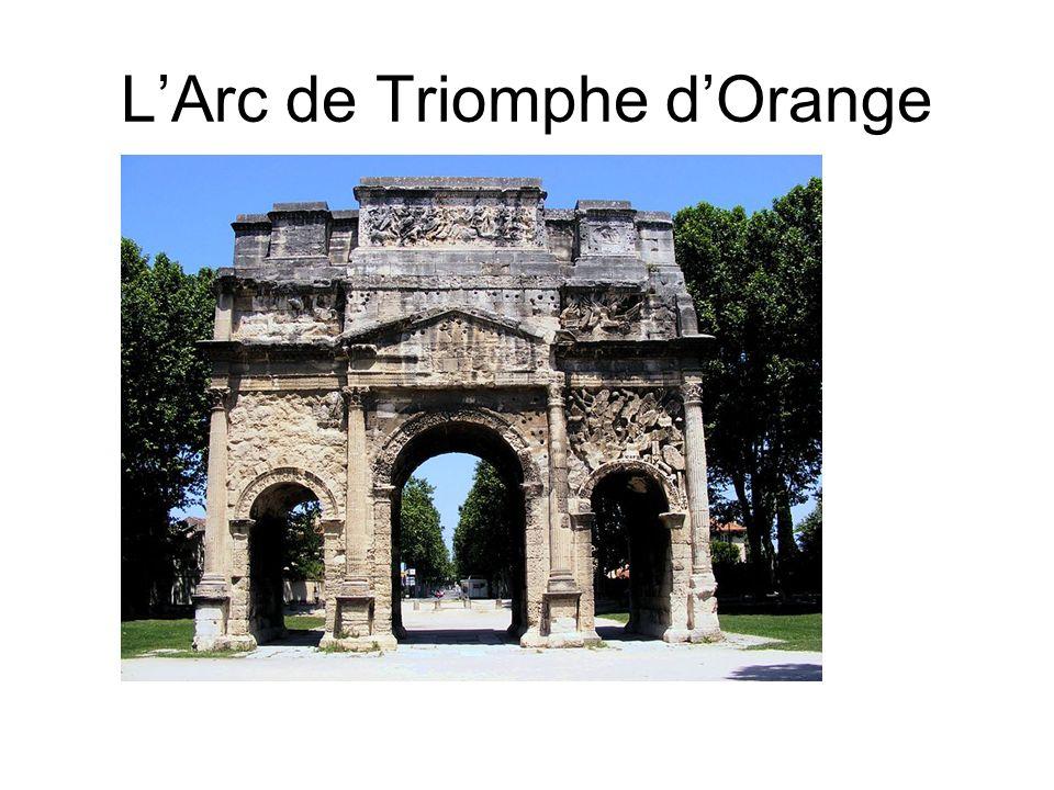 LArc de Triomphe dOrange