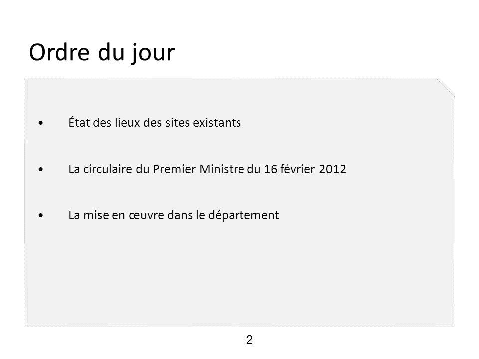 www.loiret.pref.gouv.fr - Mise en ligne le 7 décembre 2011 - 24800 visites/mois en moyenne (20000 pour l ancienne version) - La DDT, présente essentiellement à travers des liens vers le site DDT, va intégrer pleinement le site d ici la fin de l année.