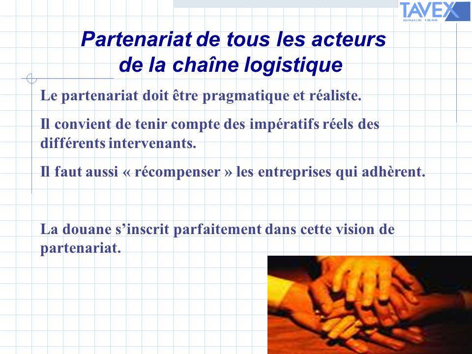 Le partenariat doit être pragmatique et réaliste.