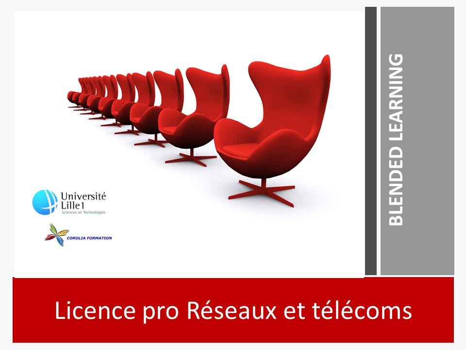 Licence pro Réseaux et télécoms BLENDED LEARNING