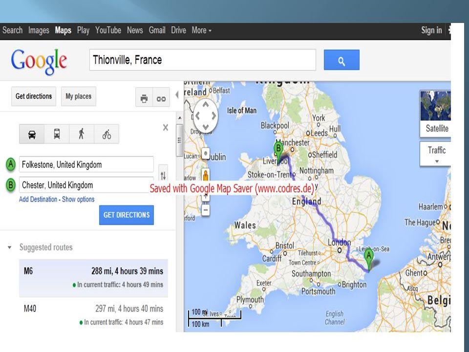 Itinéraire : Thionville – Coquelles (450kms) Embarquement Eurotunnel : 06h20 Départ navette : 07h20 Arrivée Folkestone : 06h50 (heure locale) Décalage