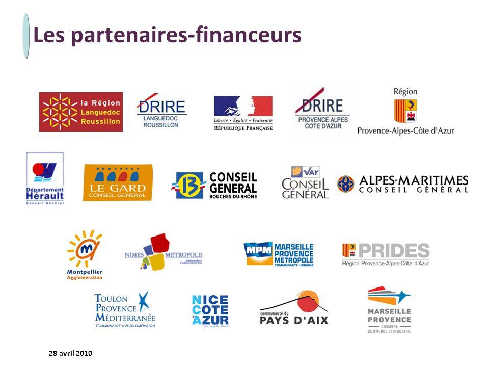 - 25 - 28 avril 2010 Les partenaires-financeurs