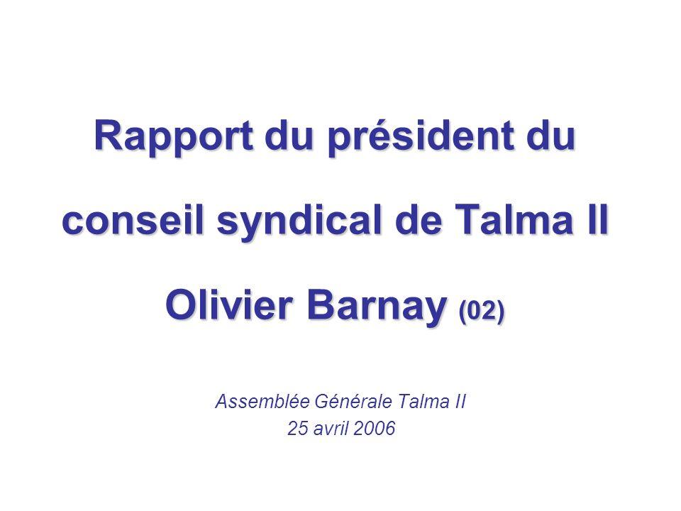 ASL Association Syndical Libre Présentation, f onctionnement et budget (03) Intervention du président de lASL M.