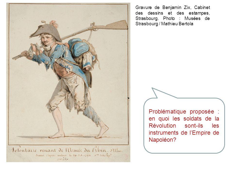 Gravure de Benjamin Zix, Cabinet des dessins et des estampes, Strasbourg. Photo : Musées de Strasbourg / Mathieu Bertola Problématique proposée : en q