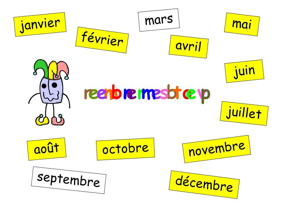 n i u j janvier février mars avril mai juin juillet août septembre octobre novembre décembre e m n r e b o v