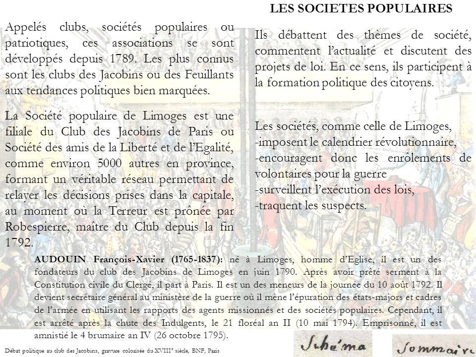 DUFOURNY de VILLIERS (Louis-Pierre) 1738-1796 Il est connu pour avoir rédigé un Cahier du Quatrième Ordre pour dénoncer lexclusion des plus pauvres de la vie politique, fondé et dirigé le Club des droits de lHomme et du Citoyen et avoir été un membre actif du Club des Jacobins.