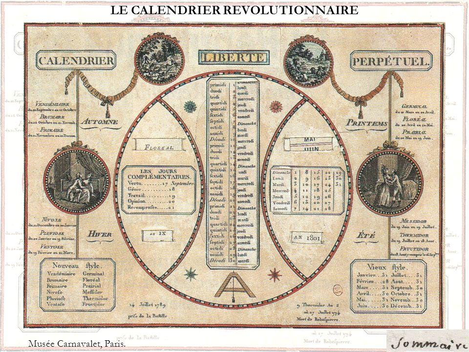 LA NAISSANCE DE LA REPUBLIQUE Le 10 août 1792 : les Sans-culottes révoltés prennent dassaut le Palais des Tuileries; le roi et sa famille se réfugient à lAssemblée mais les députés décident leur emprisonnement : cest la fin de la monarchie.
