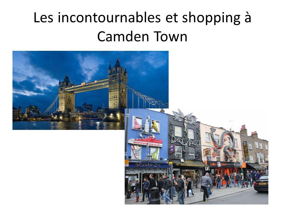 Les incontournables et shopping à Camden Town