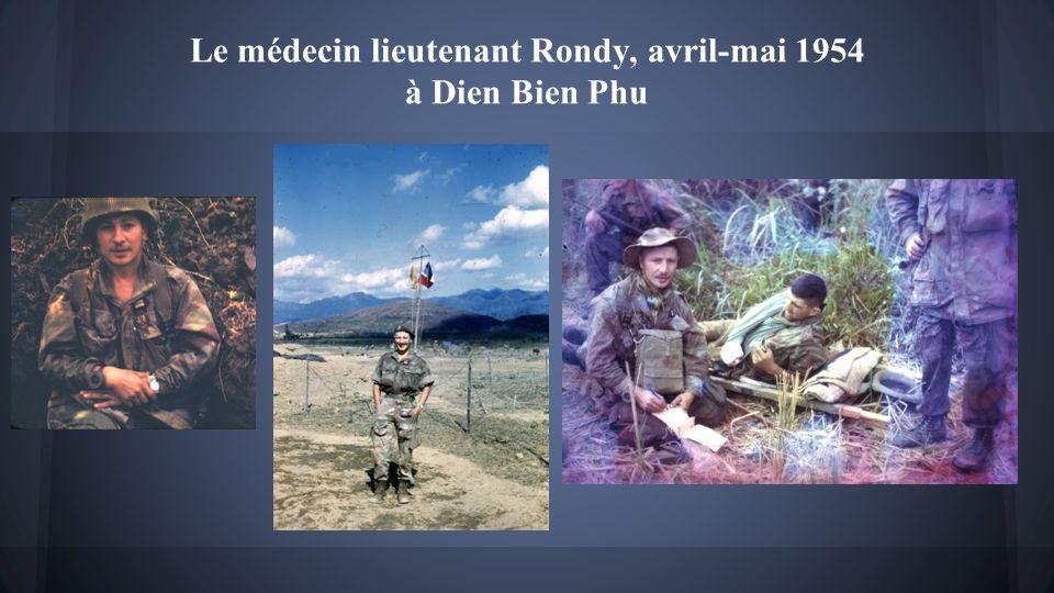 Le Docteur RONDY, Médecin du bataillon étranger de parachutistes