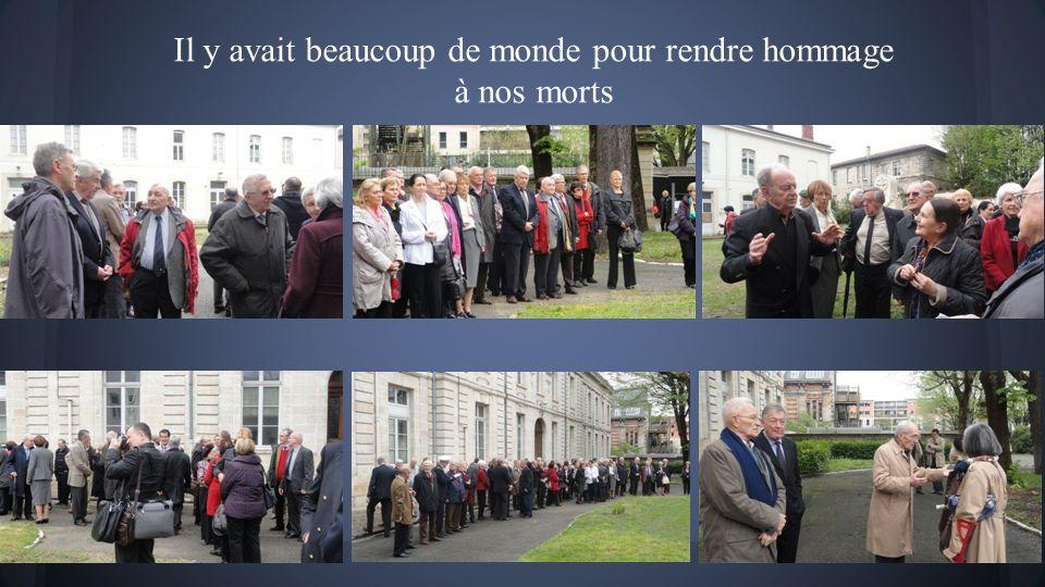 Dimanche 6 avril 2014 Cérémonie au Monument Aux Morts