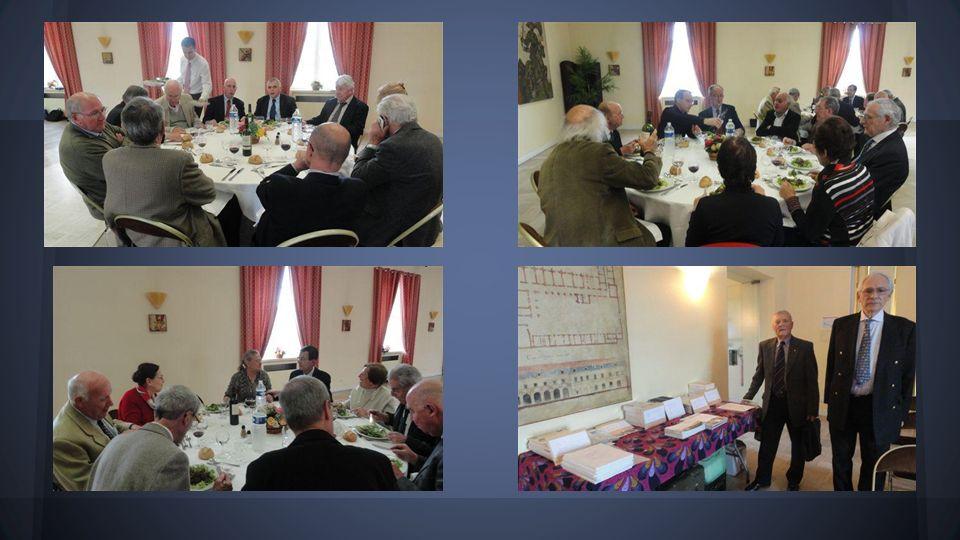 Conseil dadministration et repas de midi 5 avril 2014
