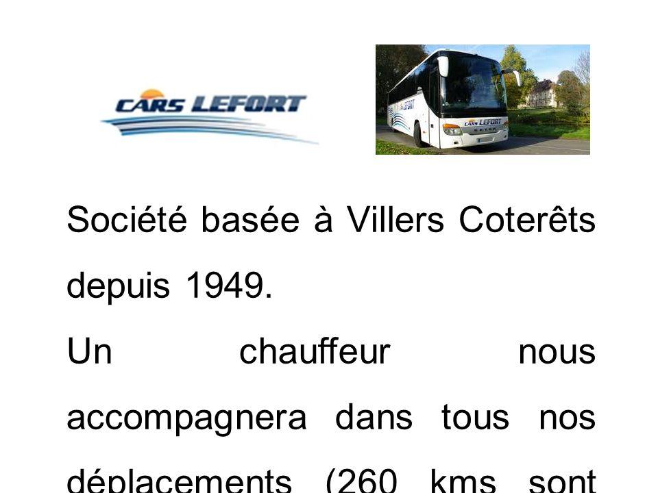 Société basée à Villers Coterêts depuis 1949.