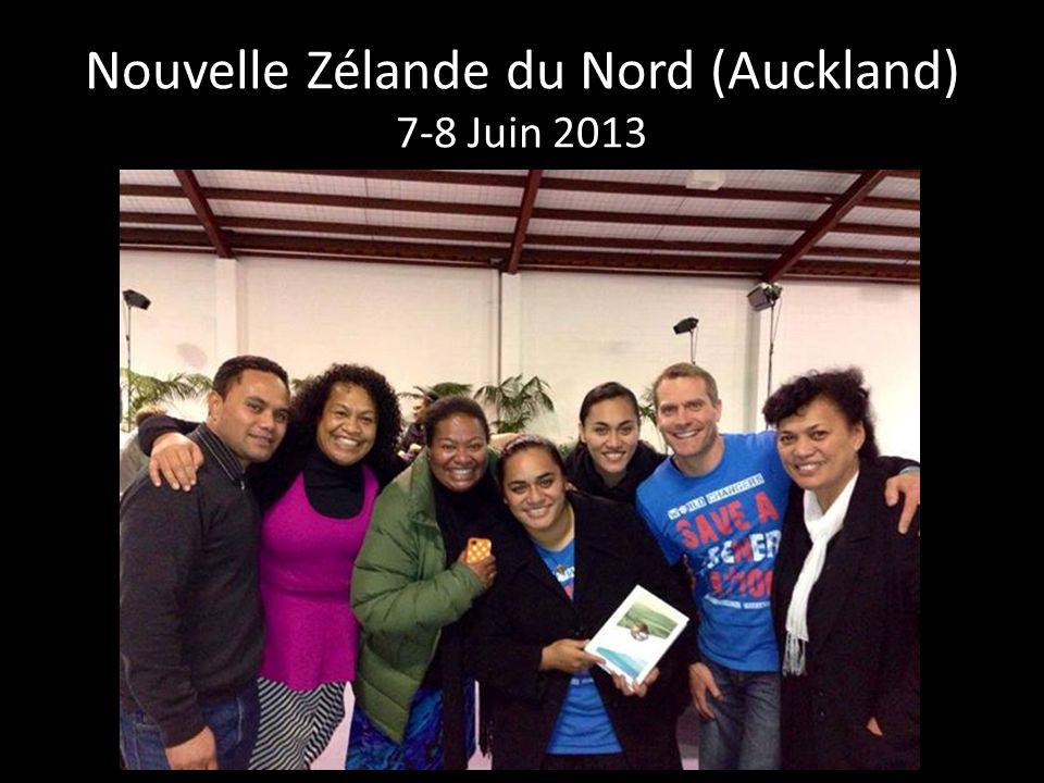 Nouvelle Zélande du Nord (Auckland) 7-8 Juin 2013