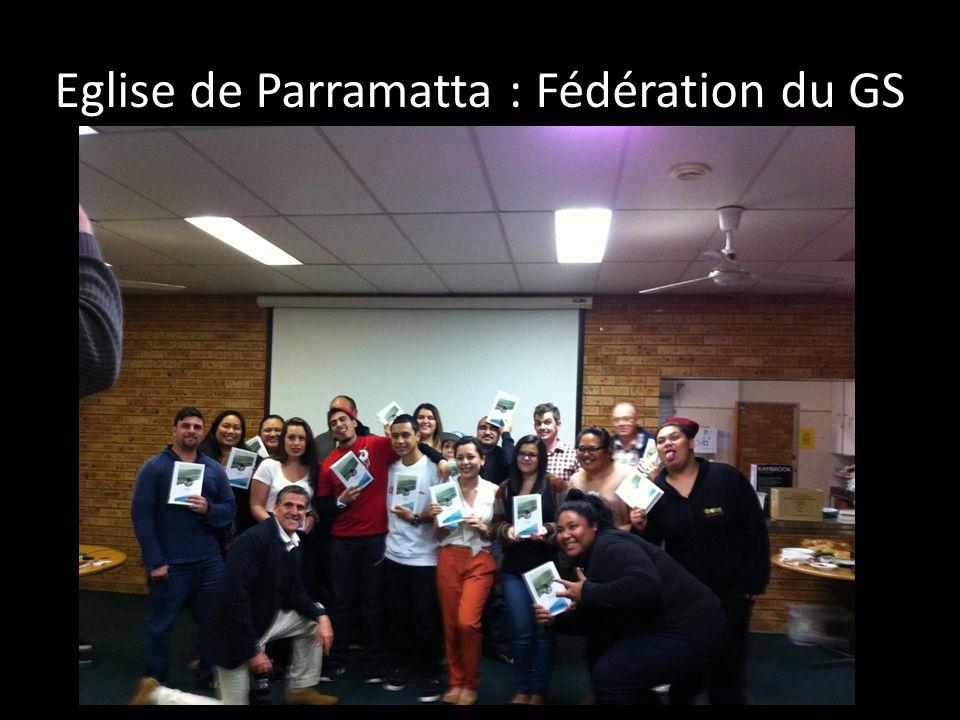 Eglise de Parramatta : Fédération du GS