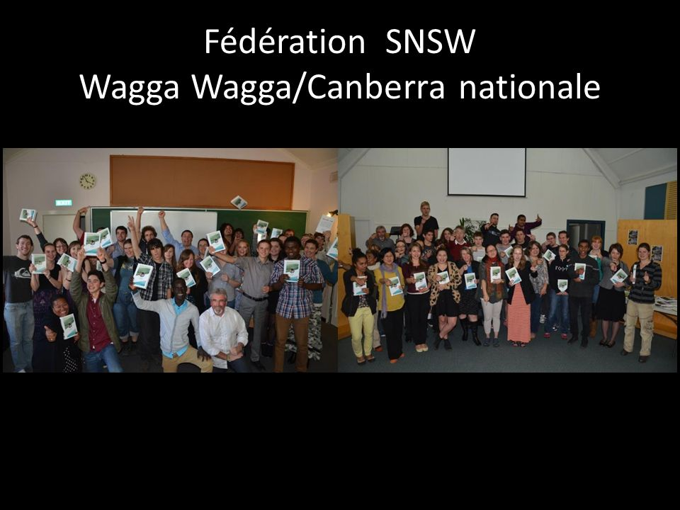 Fédération SNSW Wagga Wagga/Canberra nationale