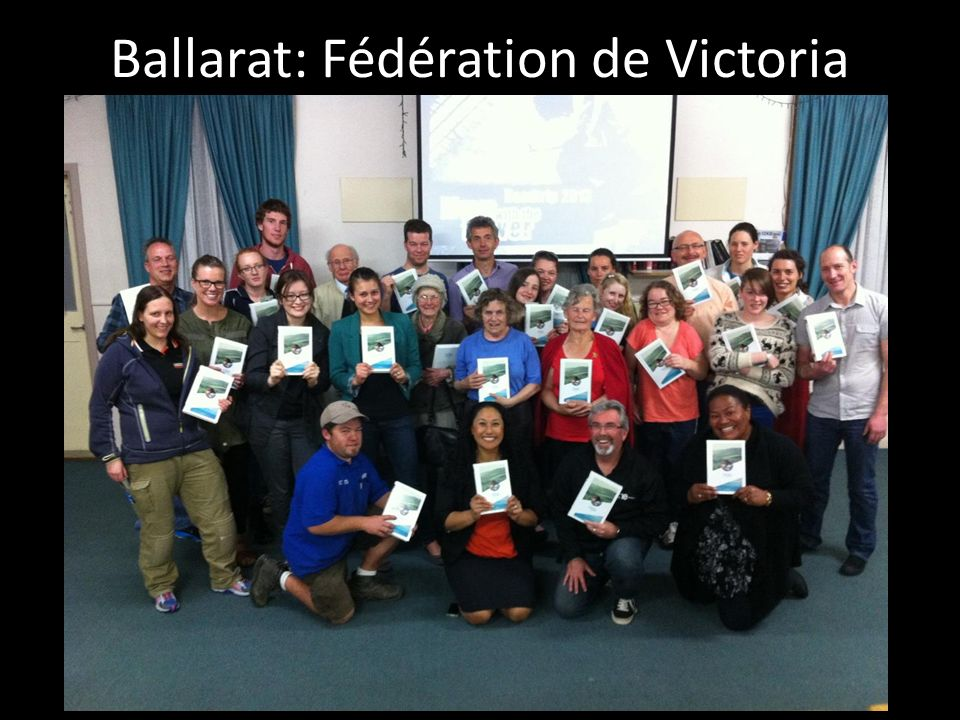 Ballarat: Fédération de Victoria