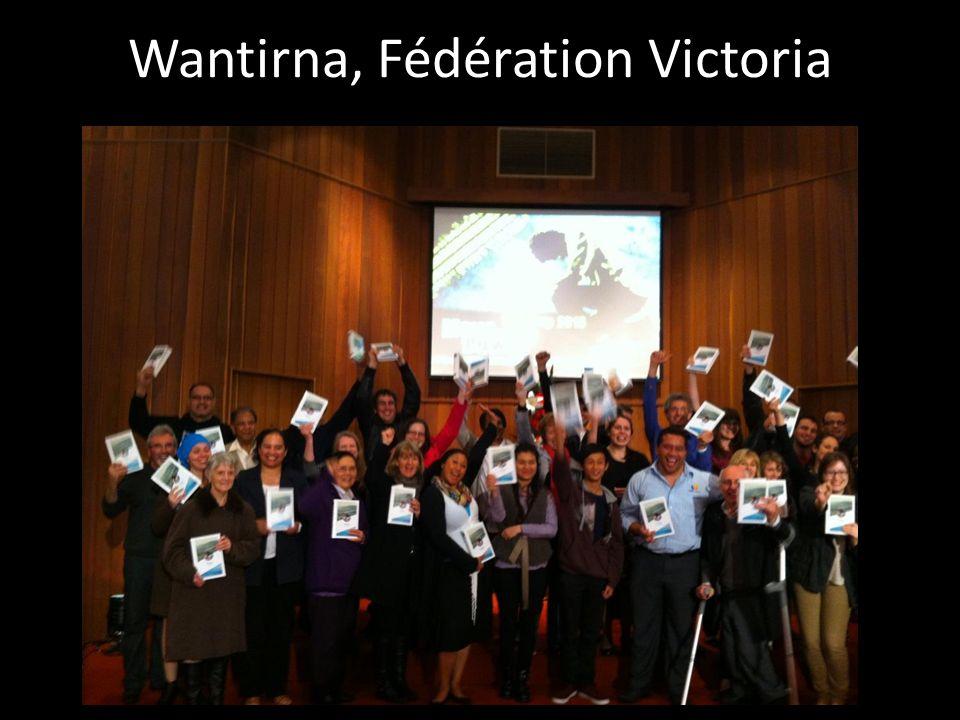 Wantirna, Fédération Victoria