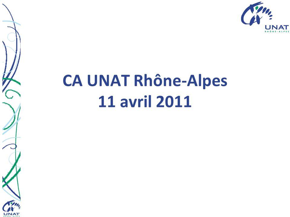 CA UNAT Rhône-Alpes 11 avril 2011