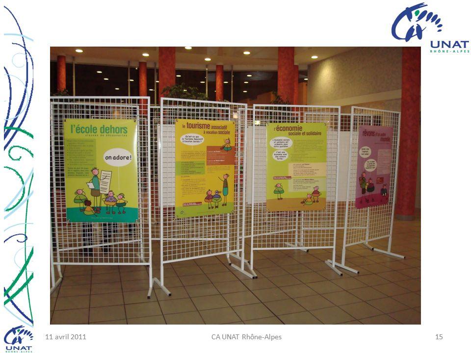 11 avril 2011CA UNAT Rhône-Alpes1511 avril 2011CA UNAT Rhône-Alpes15