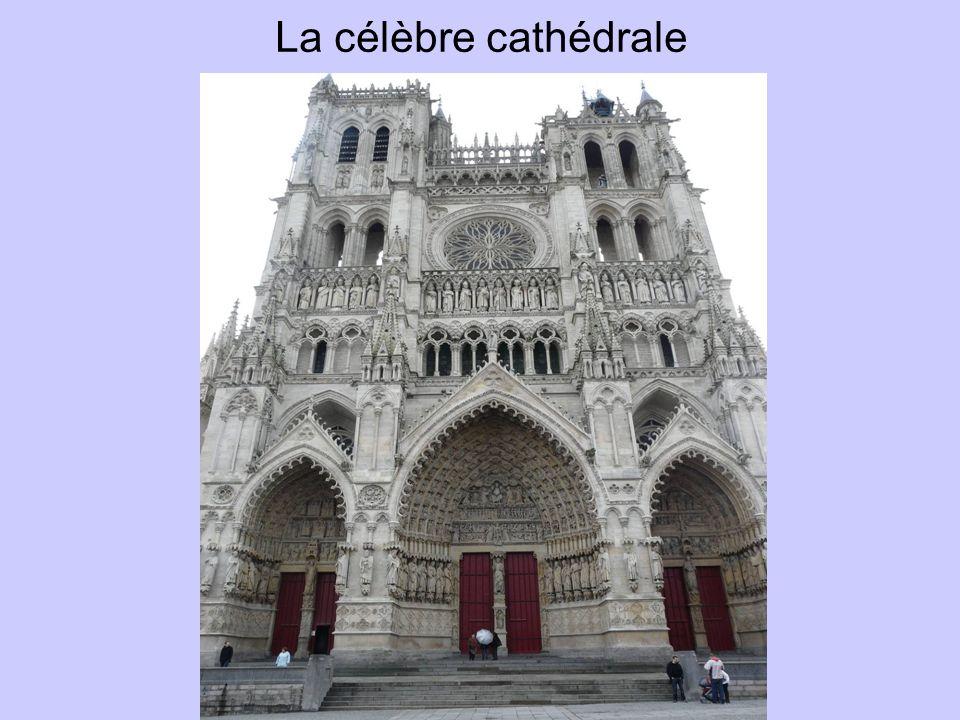 La célèbre cathédrale