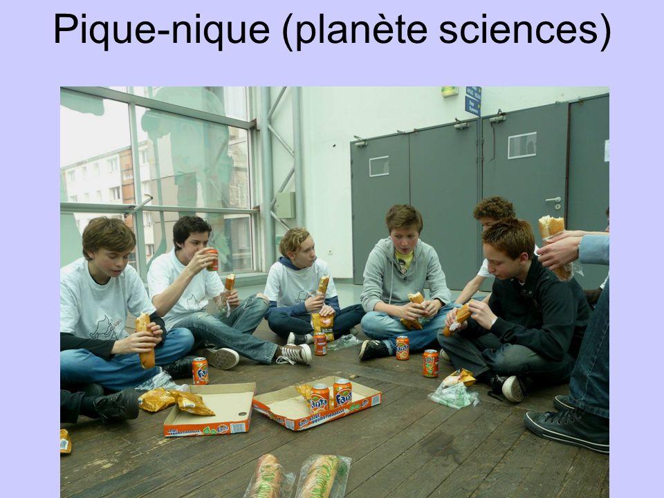 Pique-nique (planète sciences)