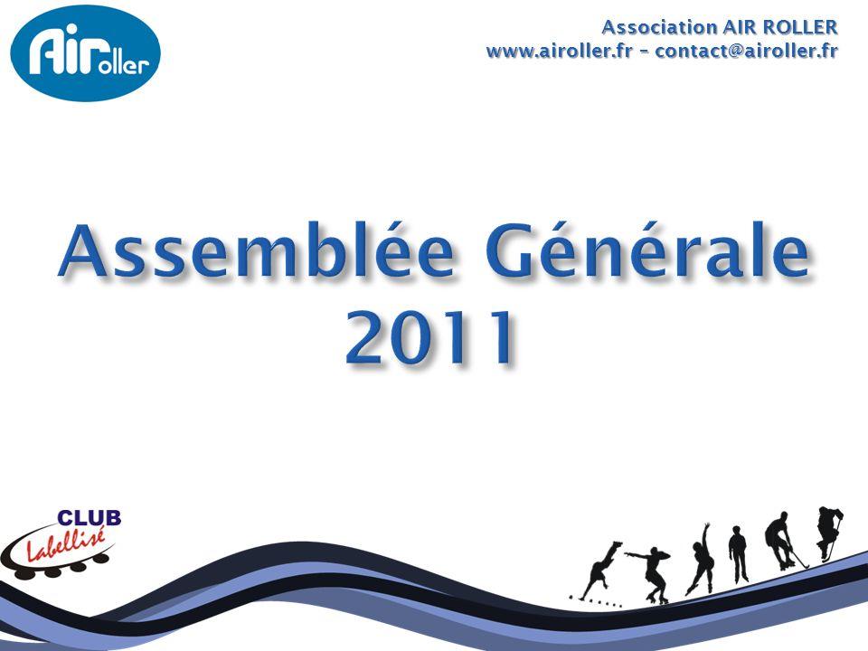 Association AIR ROLLER Assemblée Générale –19 avril 2011 Daniel BARTOUX