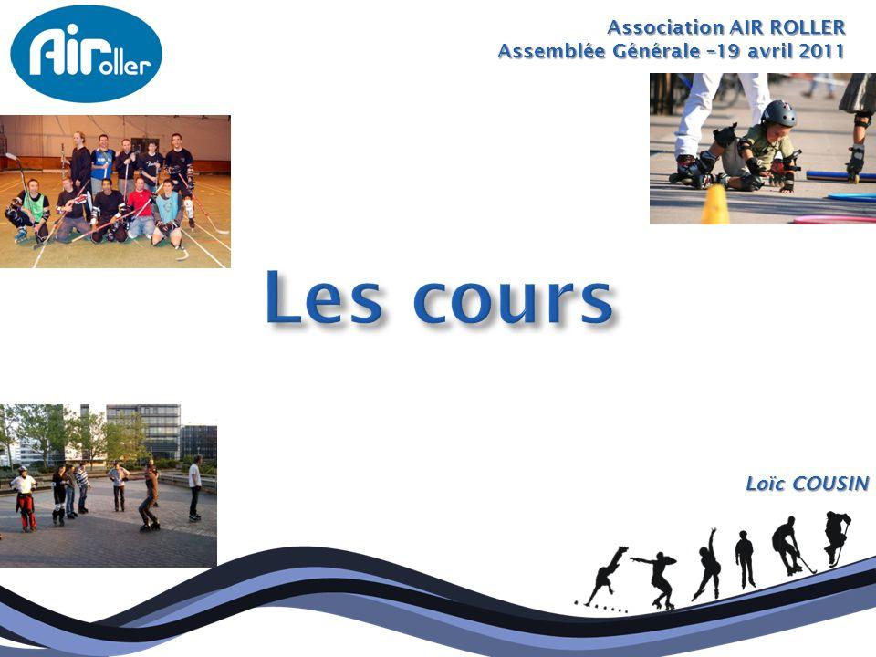 Association AIR ROLLER Assemblée Générale –19 avril 2011 Loïc COUSIN